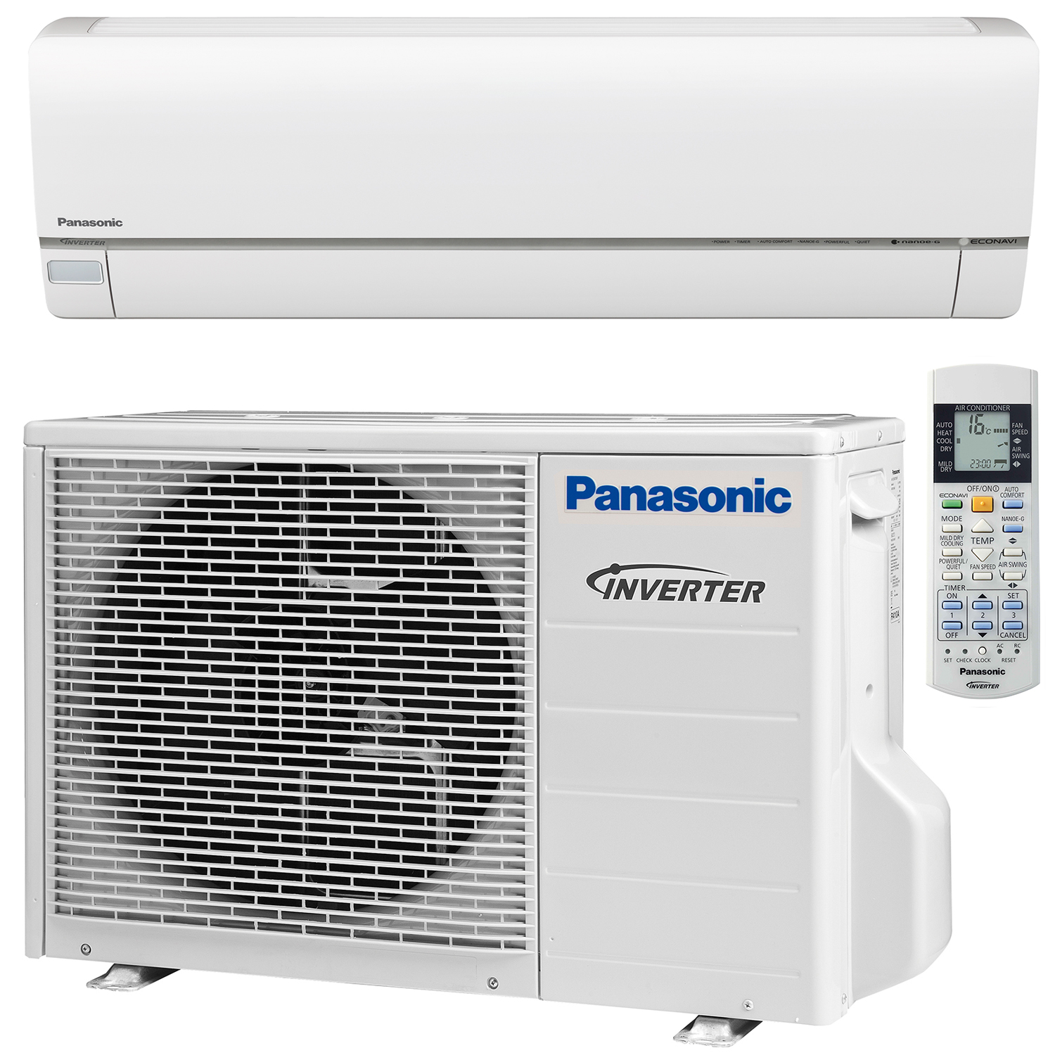 Panasonic Inverter + Bomba de calor